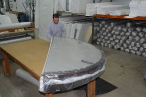 spa cover being shipped in Helena, MT