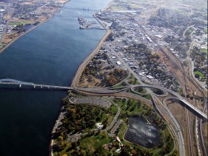 Tri Cities Wa arial view